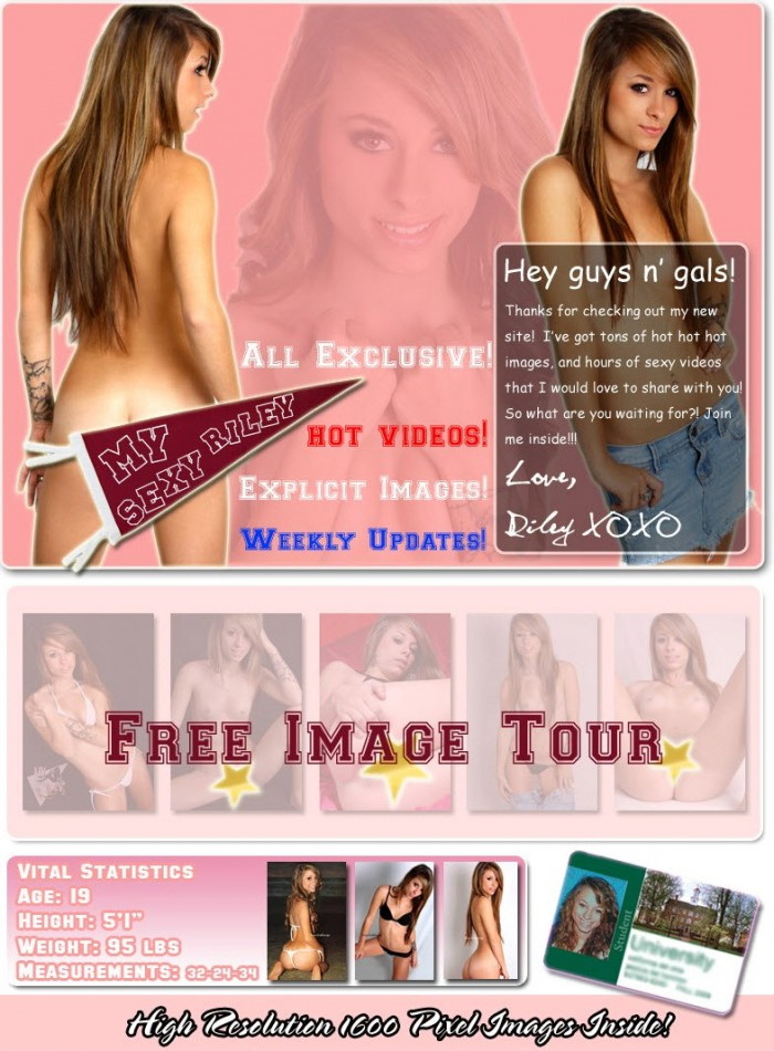 My Sexy Riley Official Site